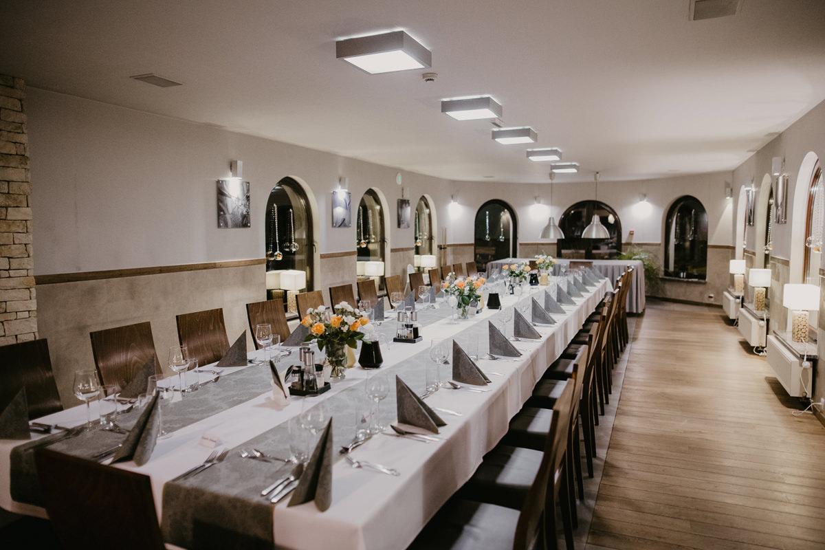 Restauracja w hotelu Skalny w Szczyrku